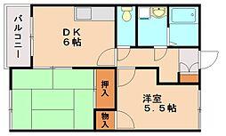 ハイムアドバンス[2階]の間取り