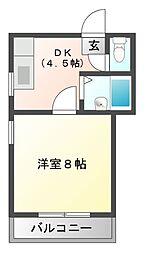 サンシャインキャッスル[3階]の間取り