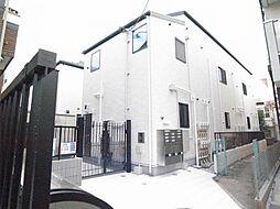 東京都世田谷区梅丘3丁目の賃貸アパートの外観