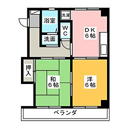 小川ビル[3階]の間取り