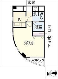 HILL HOUSE3[5階]の間取り
