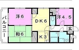 ユーミー和田[203 号室号室]の間取り