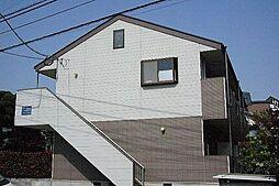 福岡県糟屋郡粕屋町花ヶ浦2丁目の賃貸アパートの外観