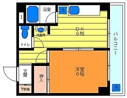 ドミーネ桜川[402号室]の外観
