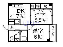 伏見駅 5.8万円