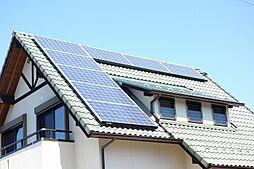 太陽光パネル設置でお財布にも地球にも優しいお家です