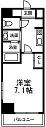 is常盤[711号室]の間取り