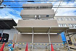 大阪府大阪市東住吉区今川5丁目の賃貸アパートの外観