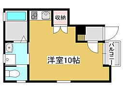 兵庫県加古川市加古川町平野の賃貸アパートの間取り