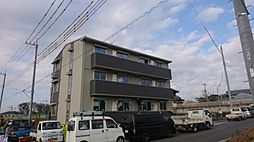千葉県柏市大室3丁目の賃貸アパートの外観