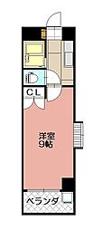 KMマンション八幡駅前II[712号室]の間取り