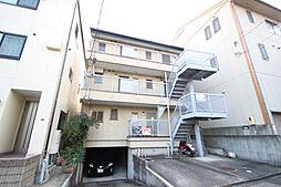 愛知県名古屋市熱田区夜寒町の賃貸アパートの外観