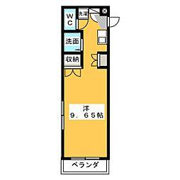 コミットメントガーデン磐田[1階]の間取り