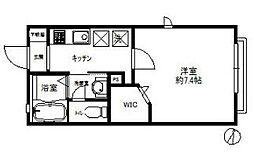 神奈川県横浜市中区元町5丁目の賃貸マンションの間取り
