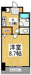 F−GARANDE[7階]の間取り