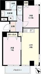 リッチバレー[6階]の間取り