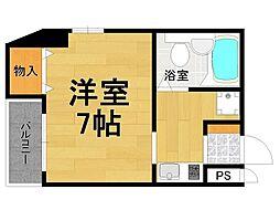 エムシステム武庫之荘[4階]の間取り