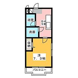 マンションアパレイユ97[2階]の間取り
