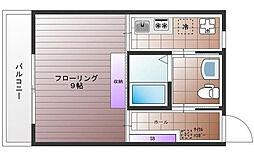 東京都調布市国領町4丁目の賃貸マンションの間取り