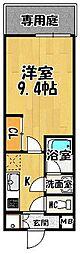 ラフィーネマック[1階]の間取り