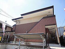 京都府京都市北区西賀茂角社町の賃貸アパートの外観