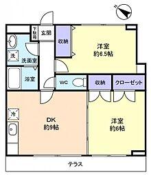 セブンステージ[1階]の間取り