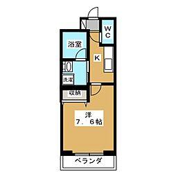 ベラジオ京都西院ウエストシティ[1階]の間取り