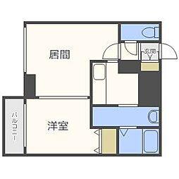 Centro札幌・北2条[6階]の間取り