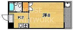 オレンジハイツ太田[202号室号室]の間取り