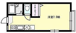 クロスファームIII[102号室]の間取り