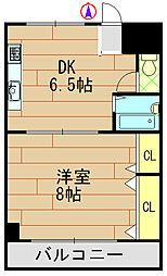 ラ・ルミエール藤井[7階]の間取り