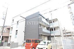 神奈川県川崎市多摩区中野島4丁目の賃貸アパートの外観
