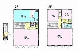 [テラスハウス] 長野県諏訪市清水1丁目 の賃貸【長野県 / 諏訪市】の間取り