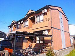 滋賀県東近江市今崎町の賃貸アパートの外観