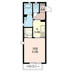 MK・Villa[2階]の間取り