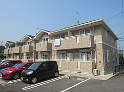 広島県安芸郡坂町横浜東2丁目の賃貸アパートの外観
