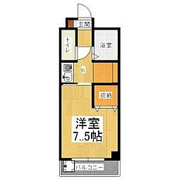 ミラベル竹鼻[3階]の間取り