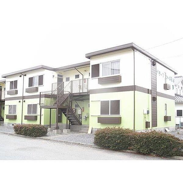 グリーンコーポ染谷A 2階の賃貸【茨城県 / つくば市】