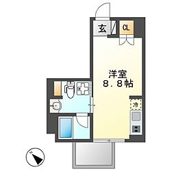 Comfort金山[6階]の間取り