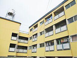 大阪府寝屋川市太秦緑が丘の賃貸マンションの外観