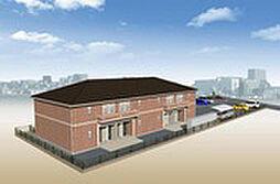 高木西賃貸アパート新築工事[201号室]の外観