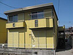 栃木県宇都宮市大塚町の賃貸アパートの外観