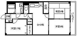 エミネンス湘南VI[403号室]の間取り