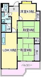 サンシャイン寿[11階]の間取り