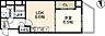 間取り,1LDK,面積38.44m2,賃料9.2万円,JR山陽本線 広島駅 徒歩15分,広島電鉄1系統 八丁堀駅 徒歩6分,広島県広島市中区八丁堀