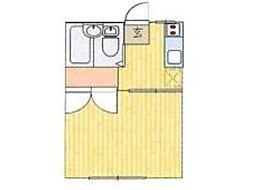 日野クリーンハイツ[1階]の間取り