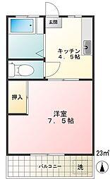 サンコーポ(分梅町)[2階]の間取り
