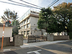 大泉第2中学校まで約884m