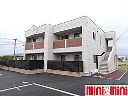 佐賀県佐賀市巨勢町大字修理田の賃貸アパートの外観