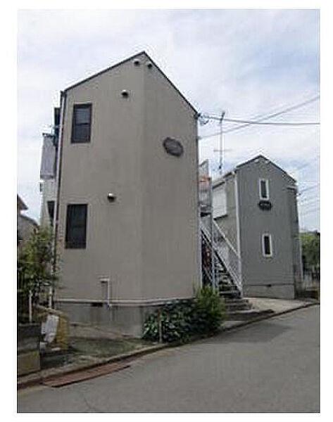 神奈川県横浜市緑区鴨居3丁目の賃貸アパートの外観